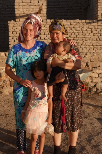 Uzbek family who fed us A LOT!
