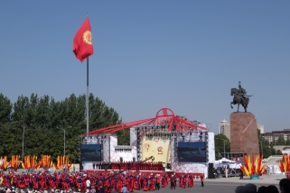 Independence day in Bishkek was a sight to behold