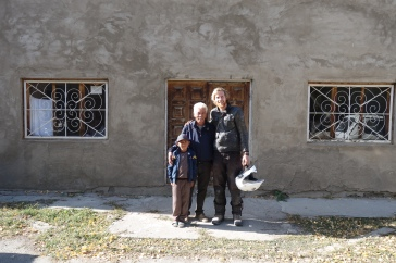We met this fantastic man and his family who run a yurt making factory
