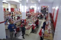 Meat market in Bishkek