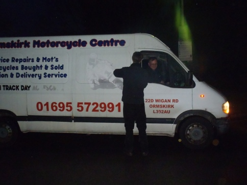 Roy who rescued us on the M6