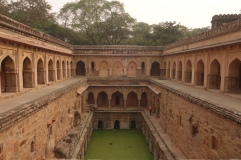 Amazing Rajon-ki Boli is a former University building complete with a built in step well to provide cooling air to students in the surrounding classrooms