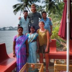 Varandas guesthouse staff