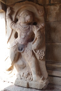 Hangman the monkey god lived in Hampi, probably why he's so good at climbing