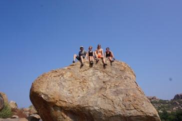 Christmas day climbers