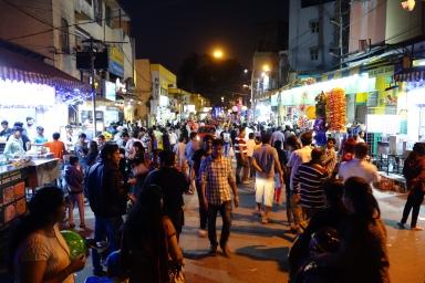 "VV Puram aka ""Food street"""