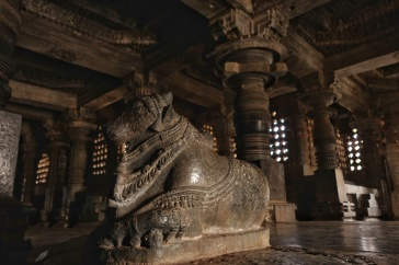 Nandi, Shiva's holy bull and vehicle