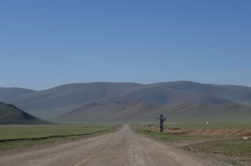 Exiting Mongolia