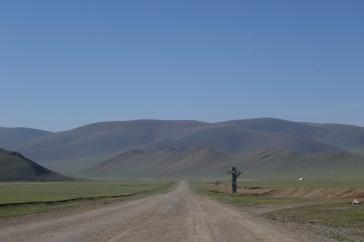 Exiting Mongolia