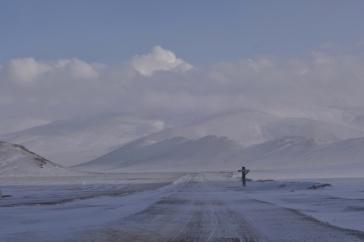 Entering Mongolia