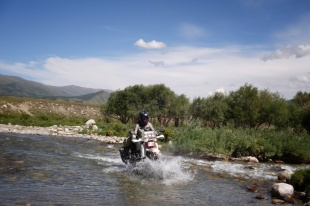 River crossings were easy after Mongolia