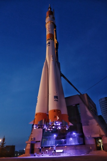 Soyuz rocket in Samara